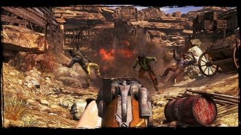 Preview Game - Call Of Juarez: Gunslinger Art