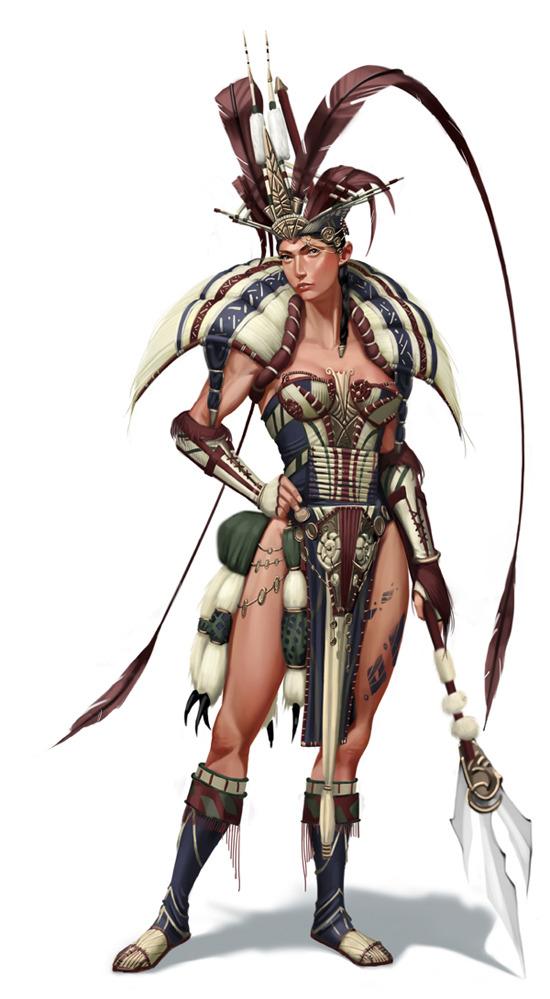 Women Warrior Art - ID: 60684 - Art Abyss