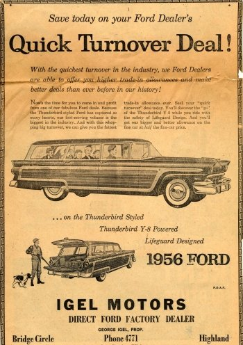 Preview Vehicles - 1956 Ford Art