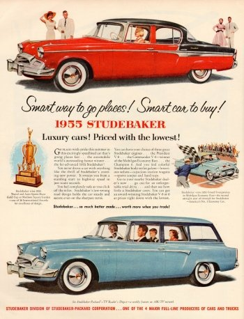 Preview Vehicles - 1955 Studebaker Art