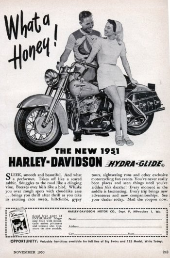 Preview Vehicles - 1951 Harley-davidson Hydra-glide Art