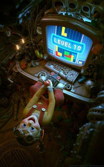 Preview CGI - Boy Art