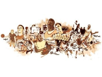 Preview Sports - Basket Ball Art