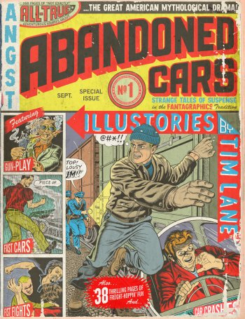 Preview Comics - Abandoned Cars Art