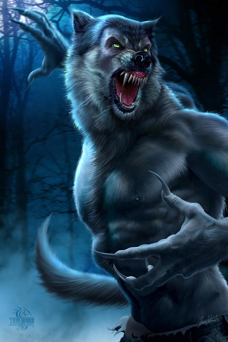 Wolfman art