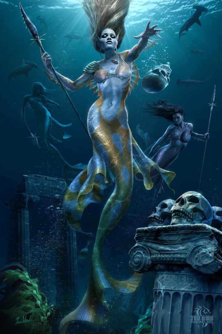 1000  ideas about Mermaid Paintings on Pinterest | Mermaids ...