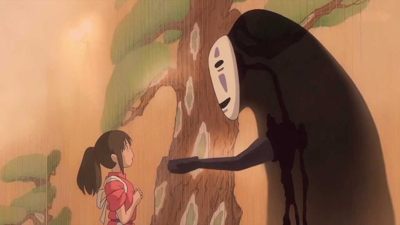 Spirited away no face eating