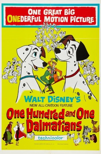 Preview Movie - 101 Dalmatians Art