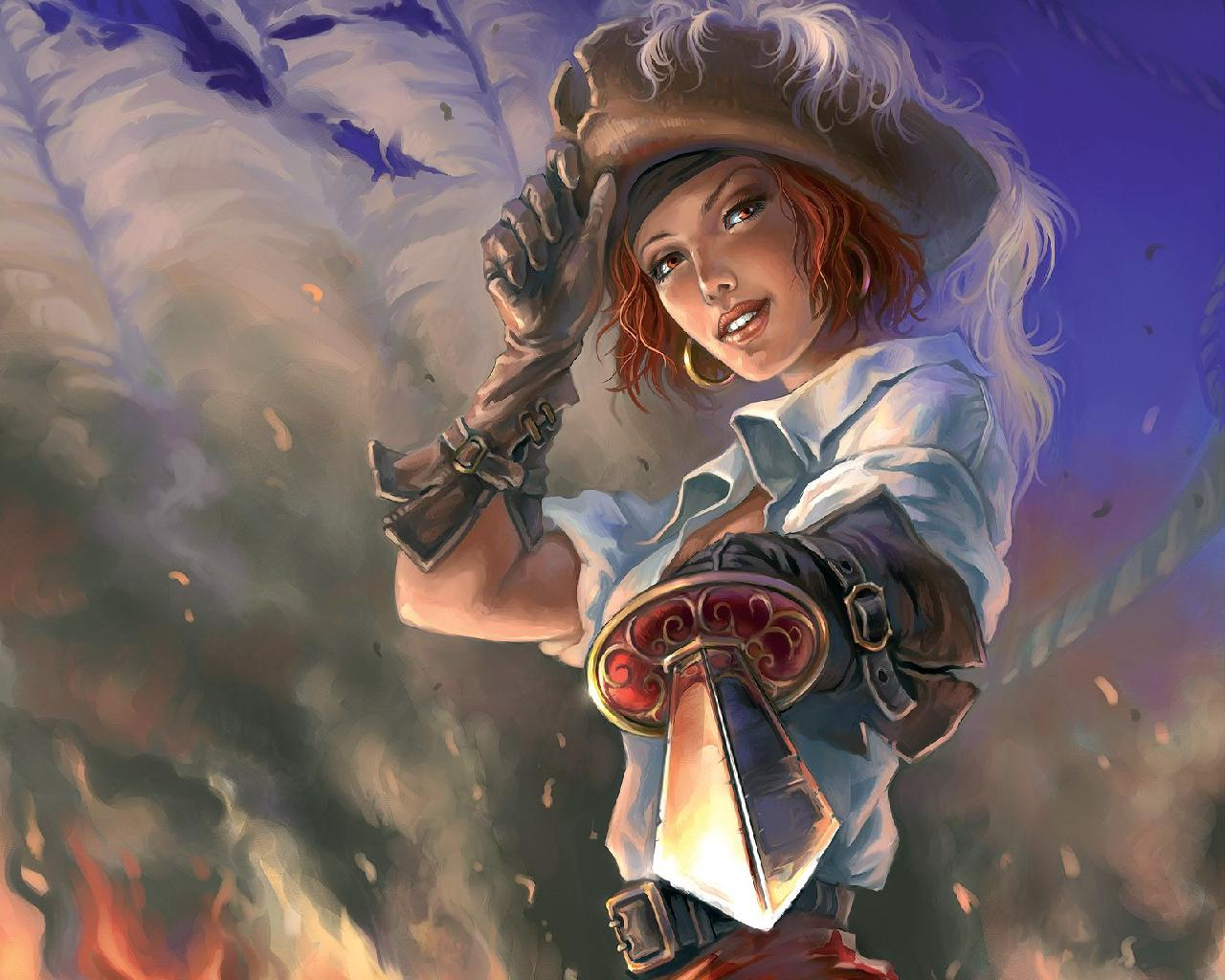 Pirate art id 74463 art abyss - Anime pirate wallpaper ...