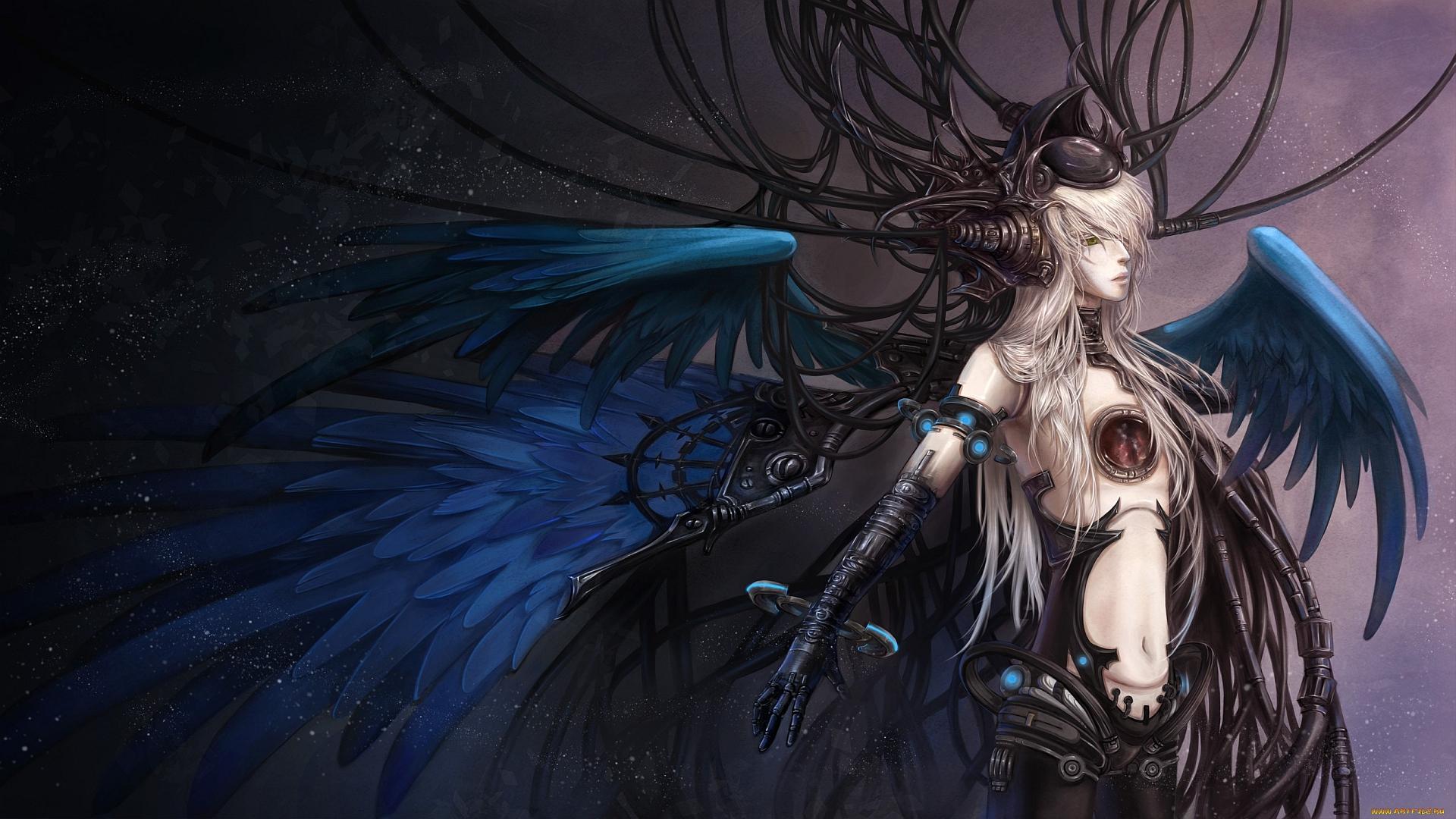 Image result for mechanical angel fantasyy art