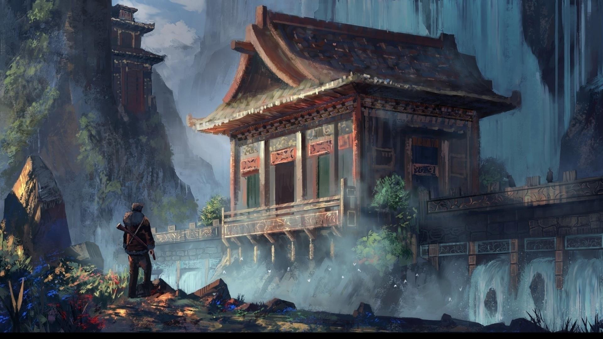 temple concept art heavenly sword art gallery