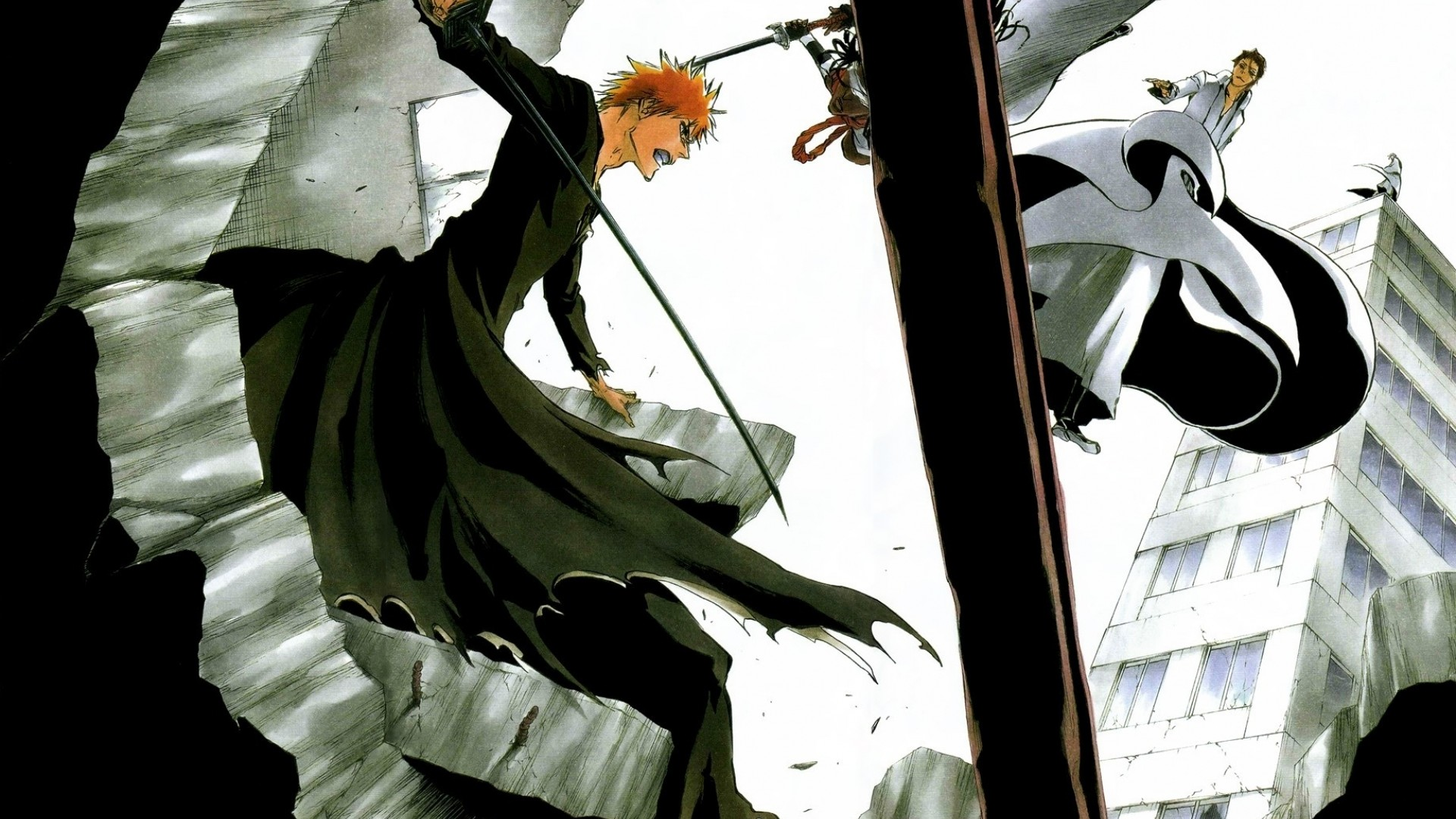 Ichigo VS Aizen Art