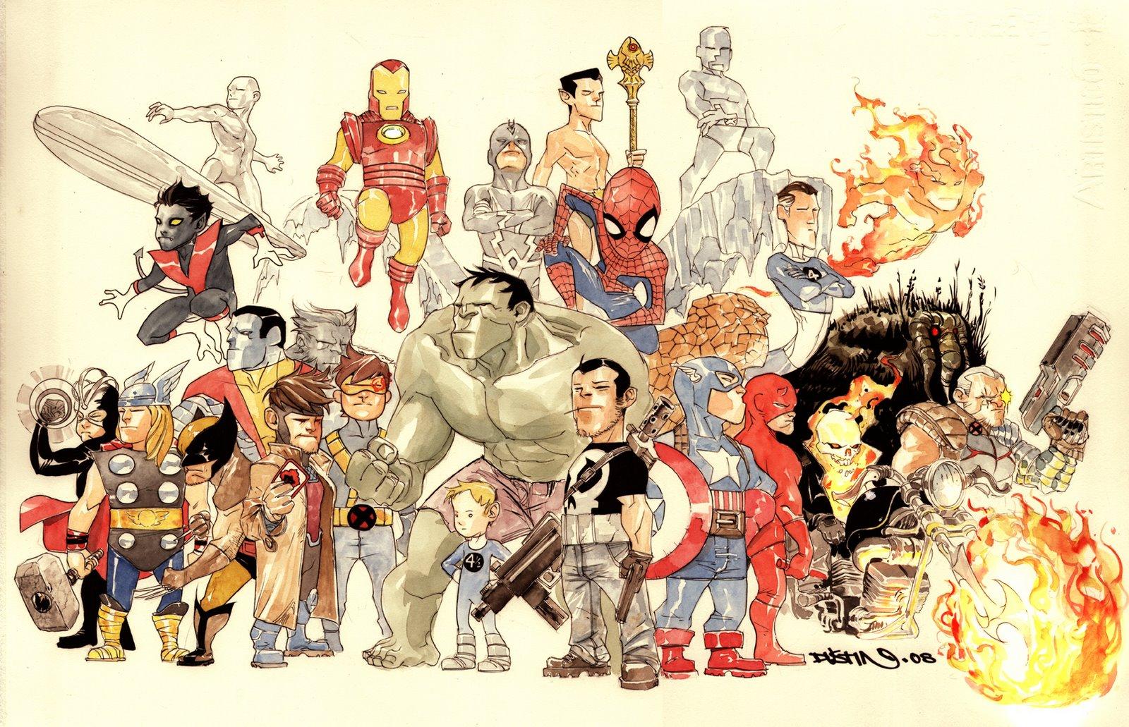 Marvel Universe Art