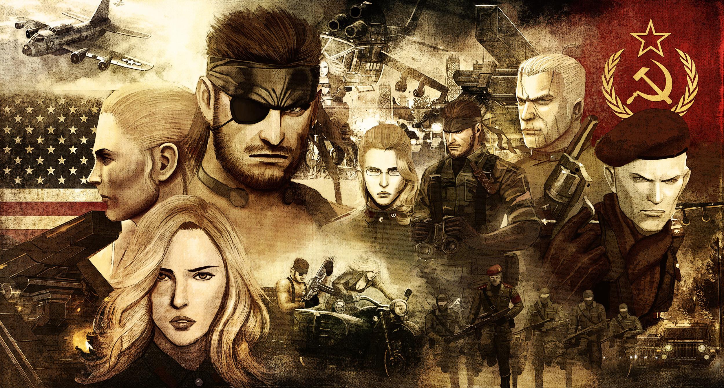 Metal Gear Solid 3 Snake Eater Art Id 78492 Art Abyss