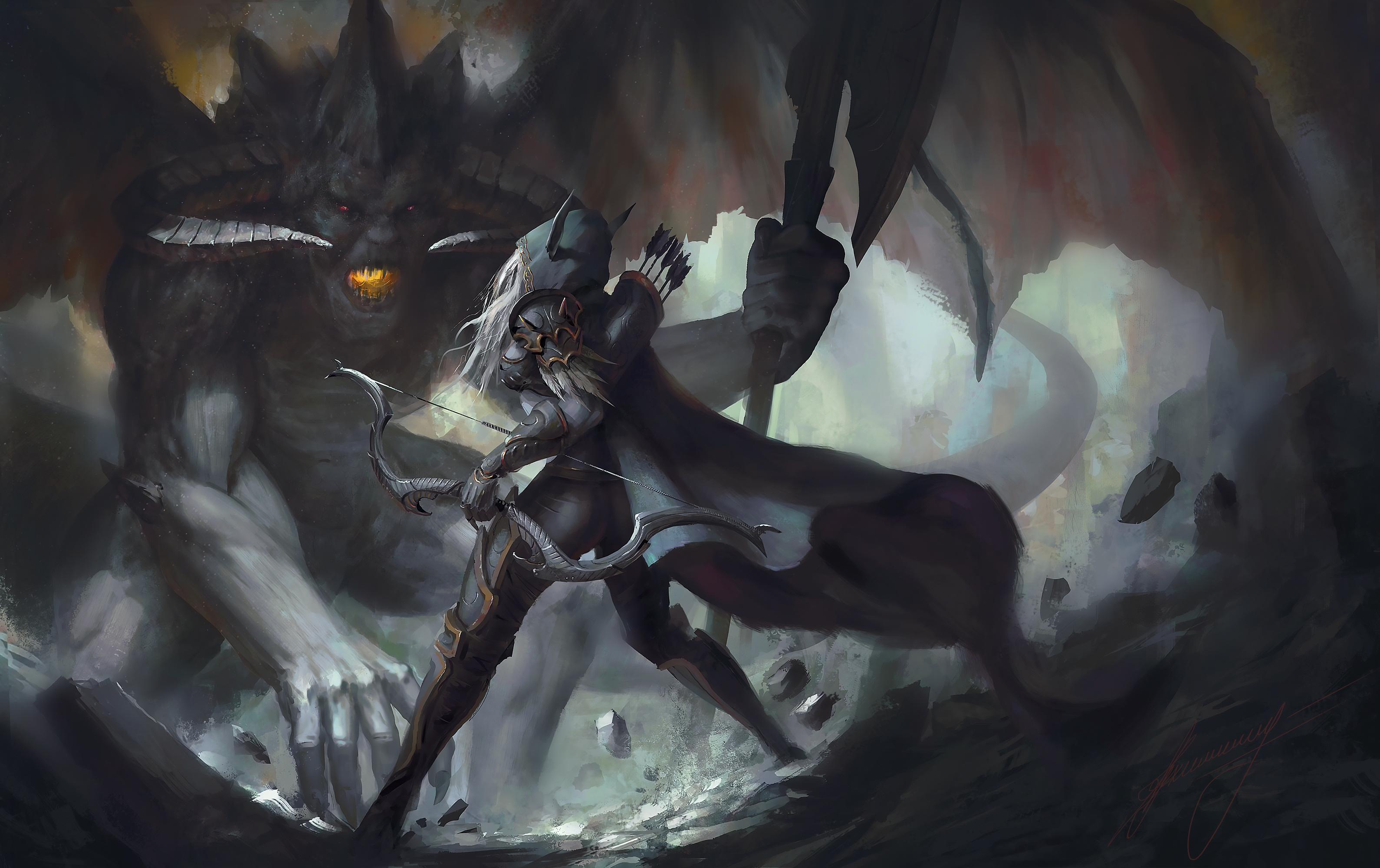 Elf vs monster cgi exposed comic