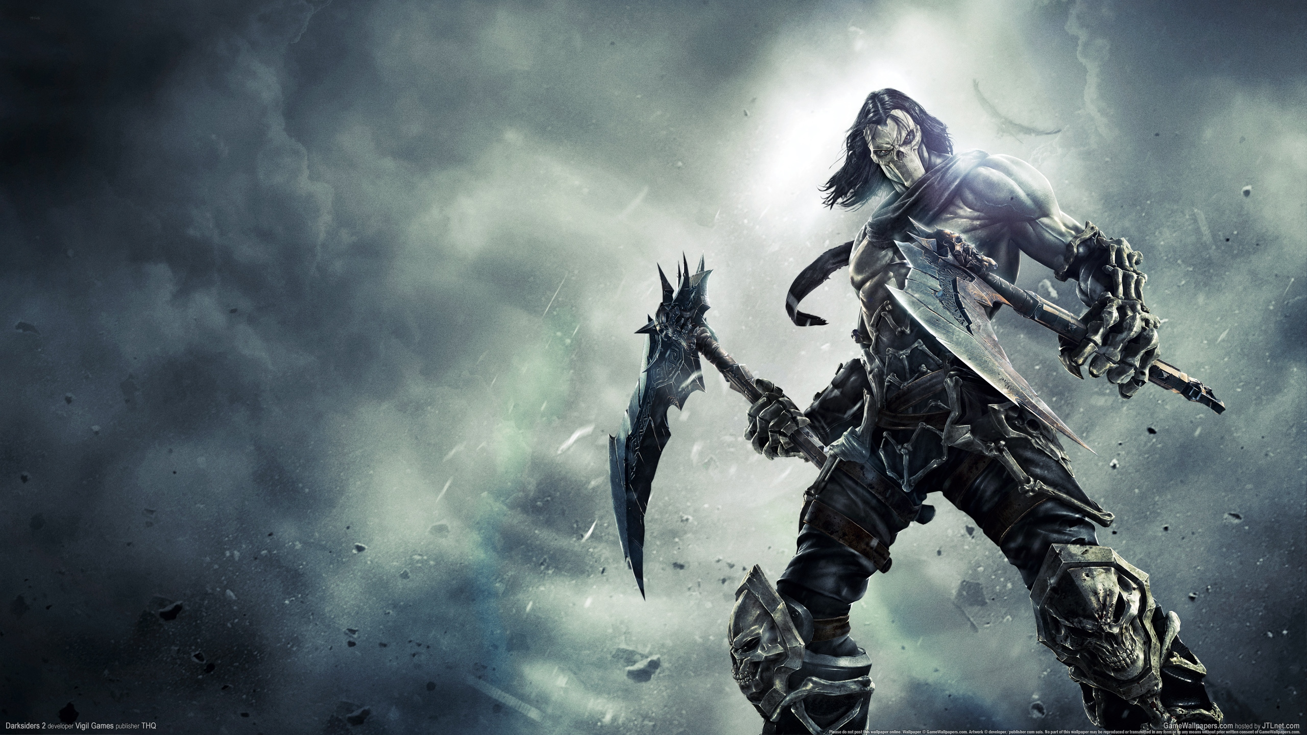 death - darksiders 2 art - id: 82980 - art abyss