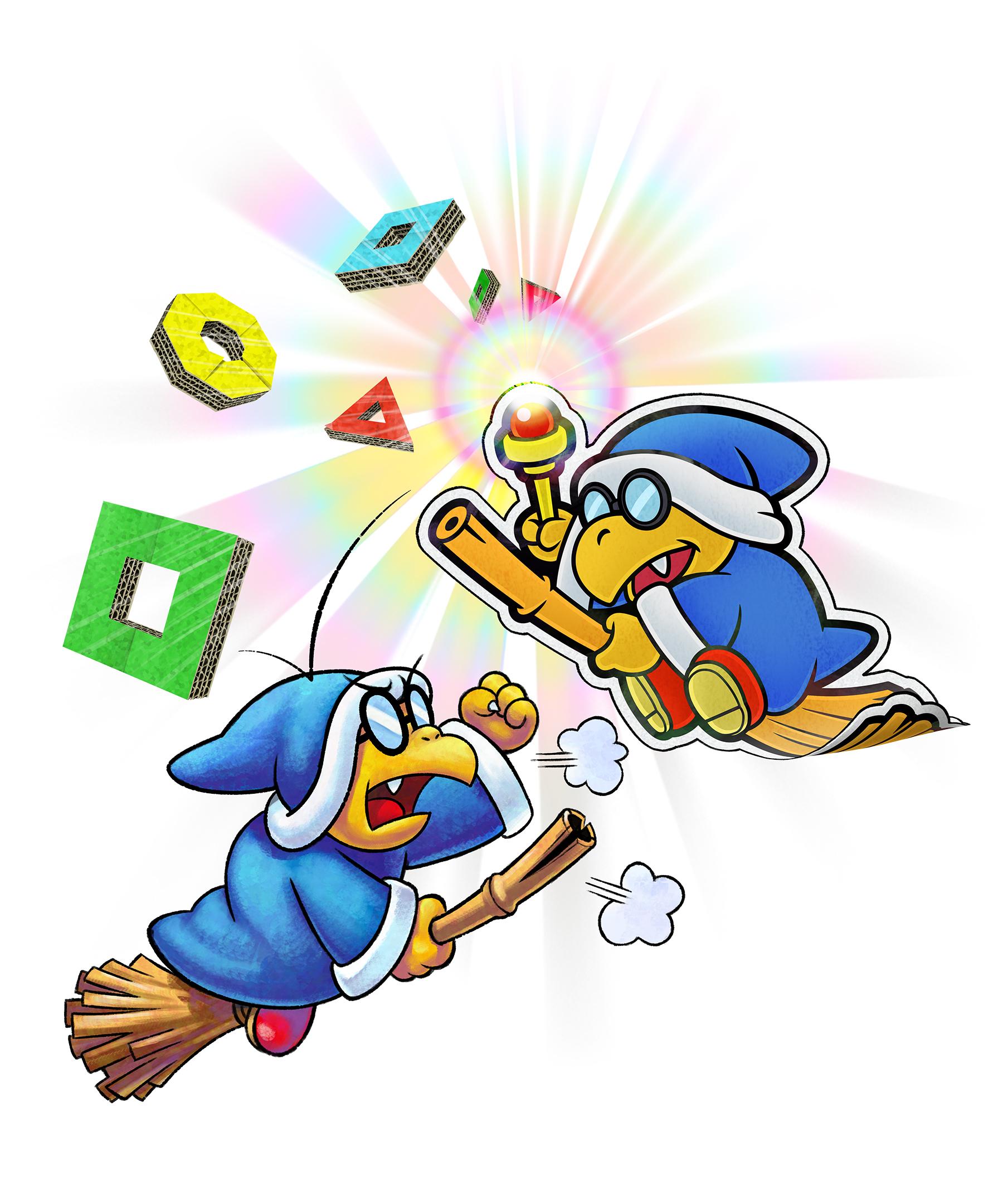 Mario Luigi Paper Jam Art Id 83925 Art Abyss