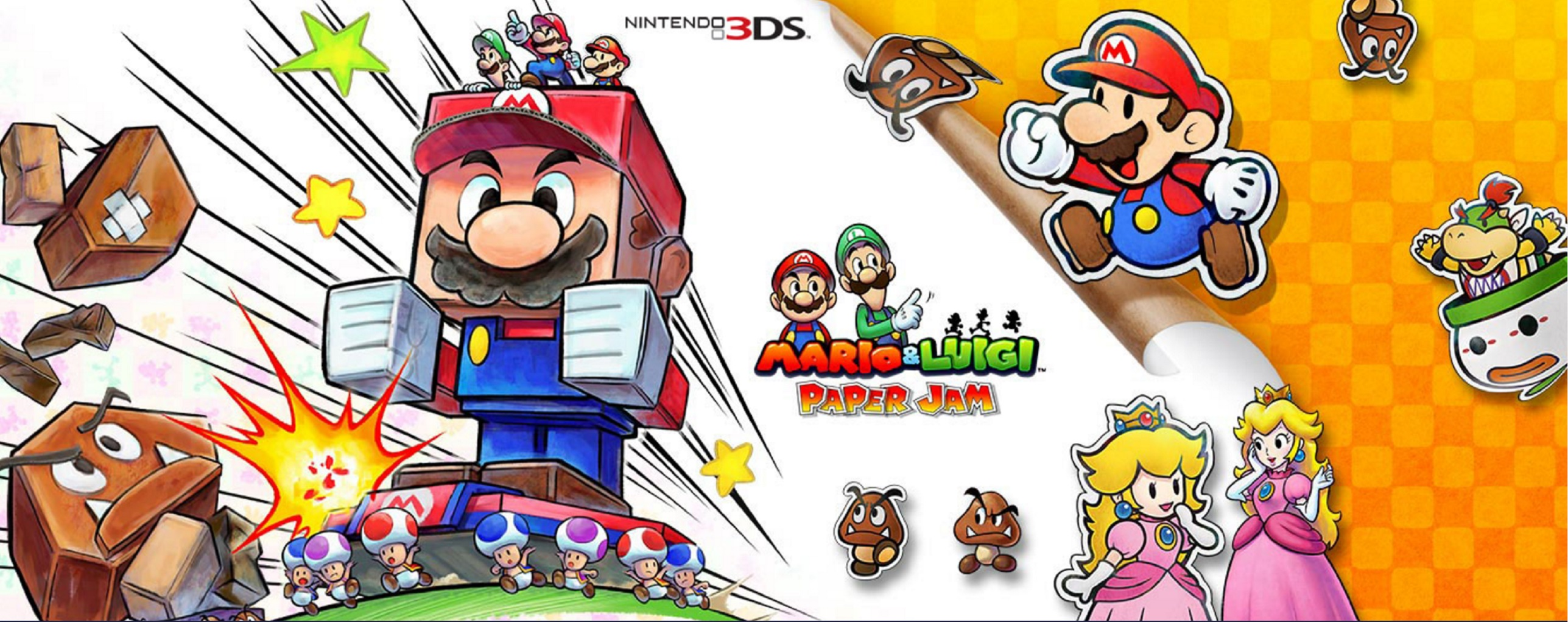 Mario Luigi Paper Jam Art Id 83935 Art Abyss