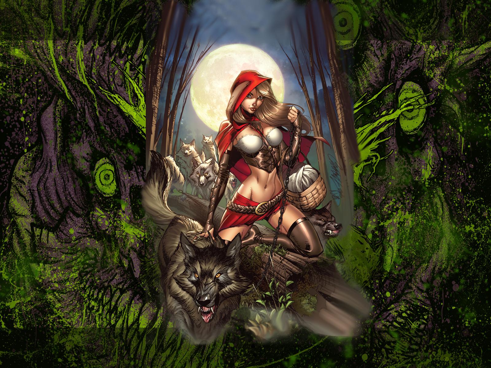 dark fairy tales wallpaper 56198 | bloghd