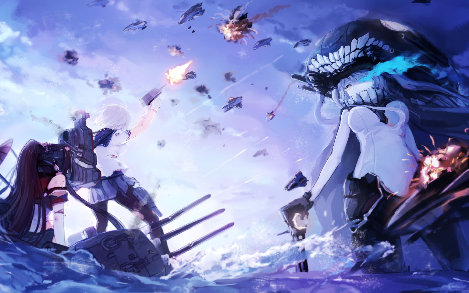 Kantai Collection Group Art Id 84124 Art Abyss