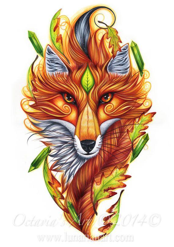 Fox Art - ID: 86227 - Art Abyss