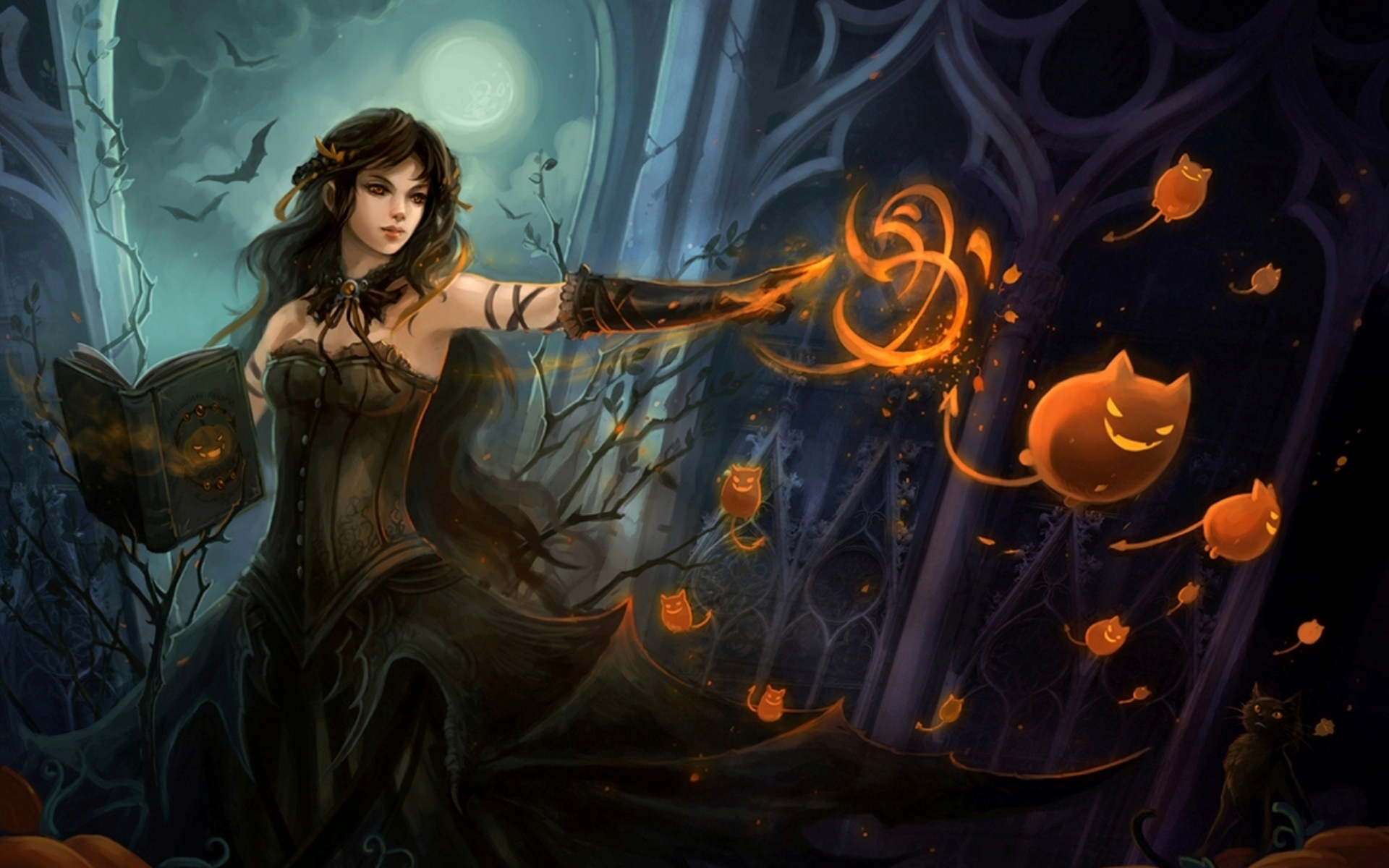 Night of all Hallows Art - ID: 87155 - Art Abyss