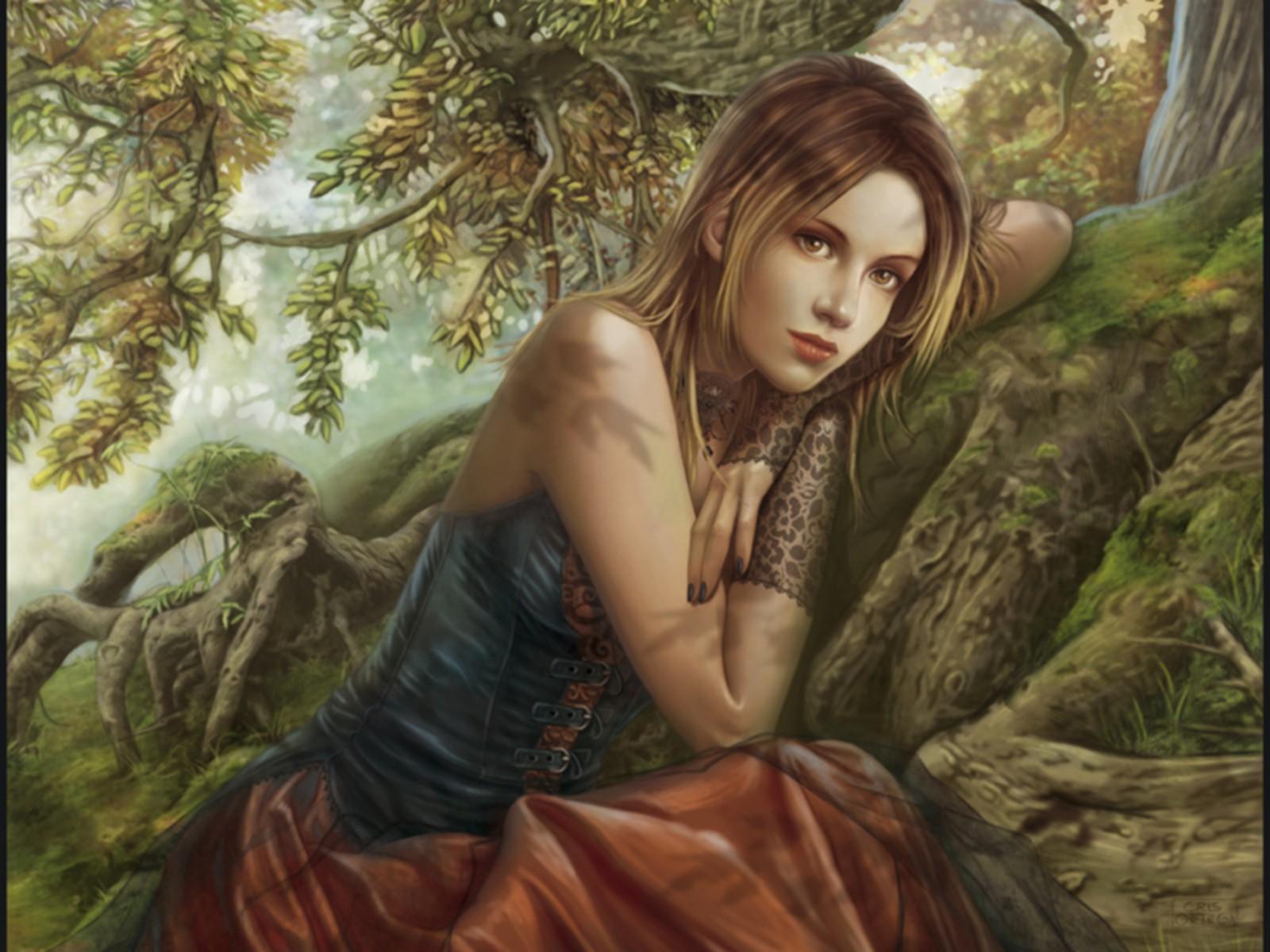 Fantasy girl art id 87608 art abyss art id 87608 voltagebd Images