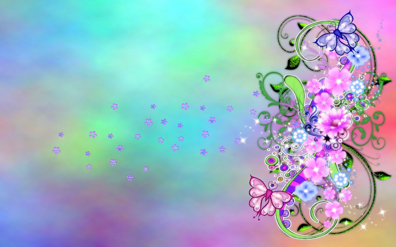 Spring fling art id 88204 art abyss - Flower wallpaper 3d pic ...