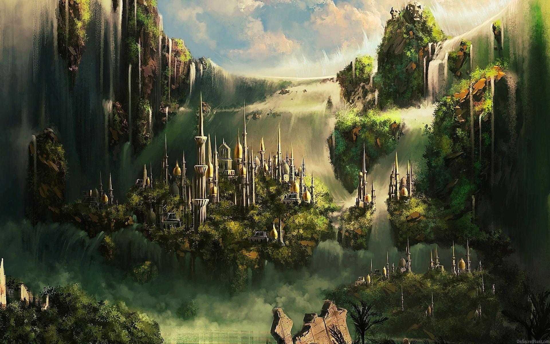 fantasy city art id  art abyss