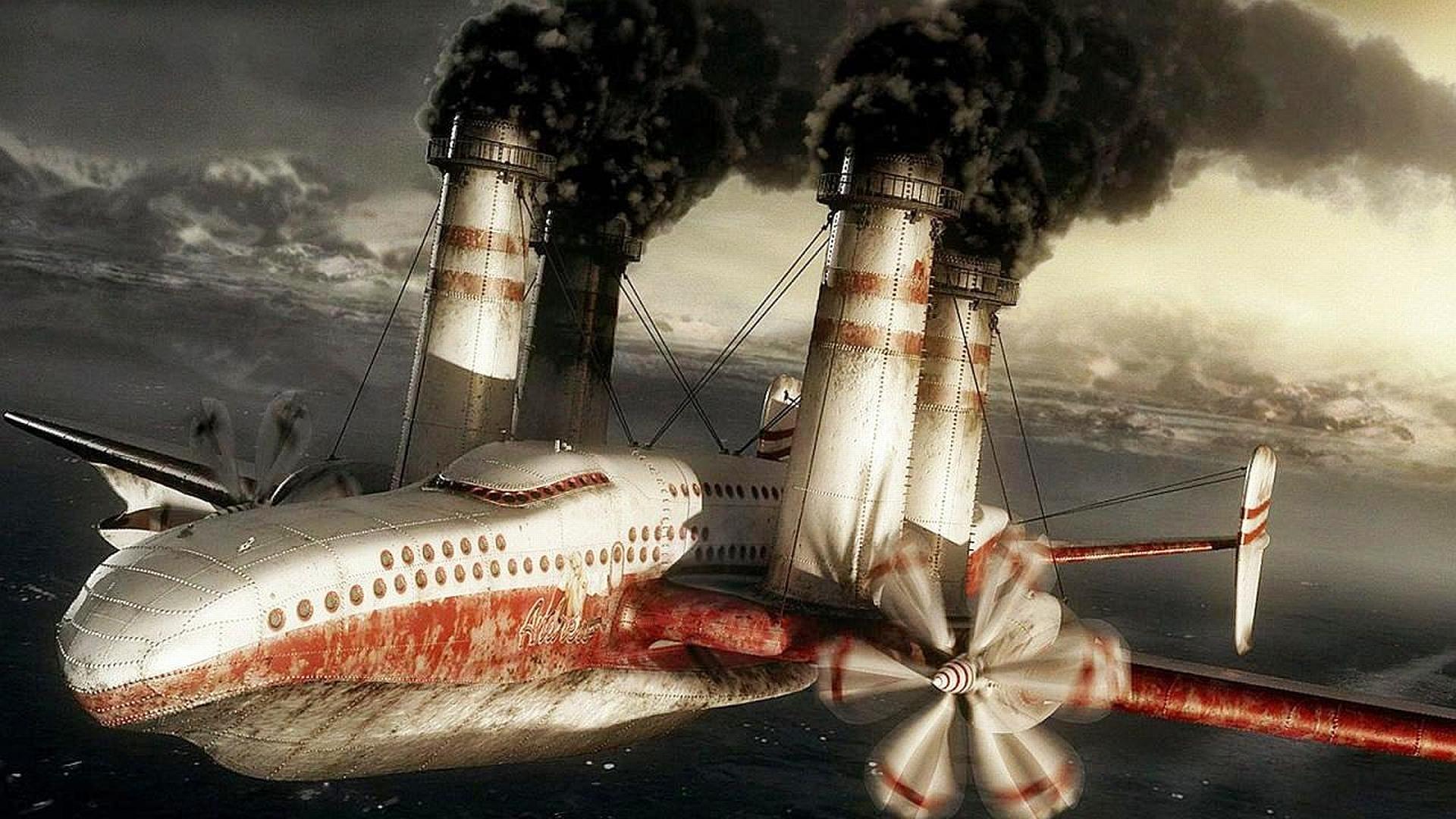 самолеты флаг дым без регистрации