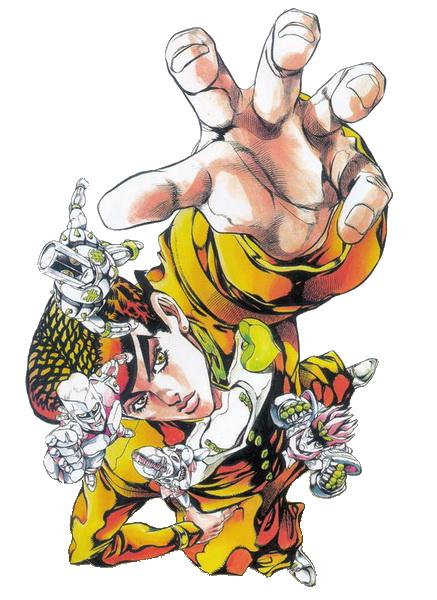 Jojo S Bizarre Adventure Diamond Is Unbreakable Josuke Higashikata Art Id 91457 Art Abyss It is clad in tall headgear, part of a mask; josuke higashikata art